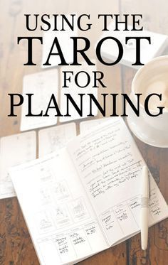 Using tarot cards for planning and goal-setting from Learn Tarot With Me