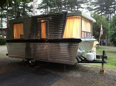 1960 Model 17 Restoration by:Kevin Reabe  This is my favorite vintage trailer!