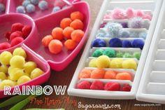 Sugar Aunts: Rainbow Fine Motor Play