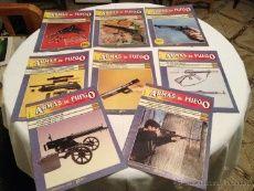 LOTE 8 REVISTAS DE ARMAS DE FUEGO.AÑOS 80