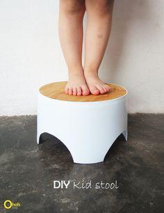 Ohoh Blog - diy and crafts: DIY kid stool