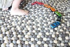 Crazy Wonderful: sukhi rug review, handmade felt ball rug, gray rug, playroom rug, kid's room rug Handmade Felt, Handmade Rugs, Nepal, Playroom Rug, Felt Ball Rug, Nursery Accessories, Rug Material, Room Rugs, Grey Rugs