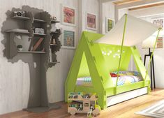 Camas criativas para o seu filho se divertir até na hora de dormir