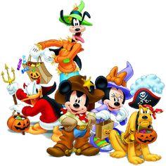 Disney Halloween Clipart