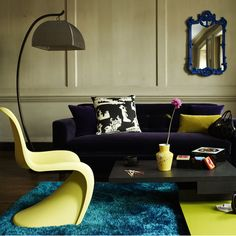 Yellow Panton Chair! love it and have it (ofcourse not the original but... looks the same!)