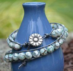 Wrap Bracelet Chan Luu Inspired / BoHo Chic by JennyLynCrafts, $25.50