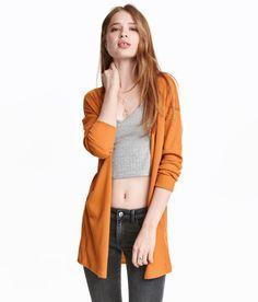 Rib-knit Cardigan | H&M Divided