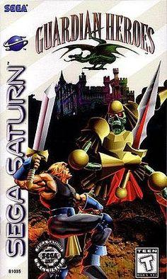 guardian Heroes Was Magnificent! North American Sega Saturn cover art