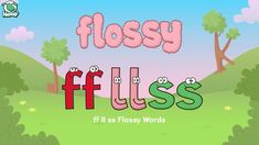 intro on monday-Nessy spelling strategy - when to spell a single or double ff-ll-ss