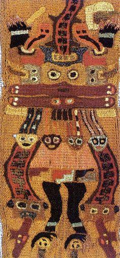 manto paracas - Precolombian Peru -