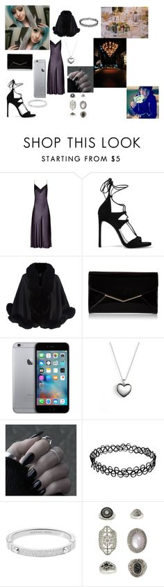 """Alone At First"" by alexis-kitten on Polyvore featuring E L L E R Y, Stuart Weitzman, Harrods, Furla, Pandora, Michael Kors, Topshop, women's clothing, women and female"