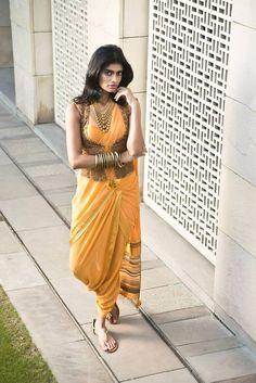 Saree by:Tarun Tahiliani Spring 2014 Collection