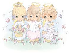 Precious moments Coro de ángeles
