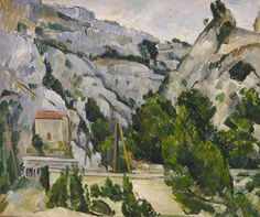 Paul Cézanne - Le viaduc à L'Estaque (The viaduct at L'Estaque), 1882.