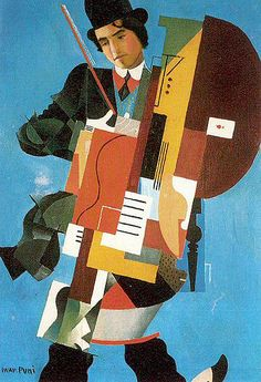 Puni, Ivan (1894-1956) - 1921 The Synthetic Musician by RasMarley, via Flickr