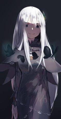 Kawaii Anime Girl, Anime Art Girl, Anime Chibi, Manga Anime, Waifu Material, Echidna, Re Zero, Manga Girl, Animes Wallpapers