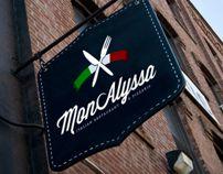 Italian Restaurant Logo by Jack Robinson, via Behance