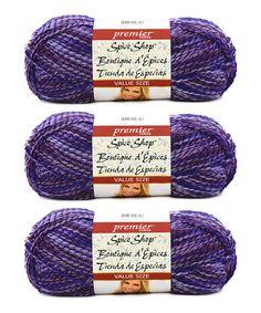 Look what I found on #zulily! Amethyst Yarn - Set of Three #zulilyfinds