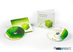 CD's fabricado para a CAIXA GERAL DE DEPÓSITOS.