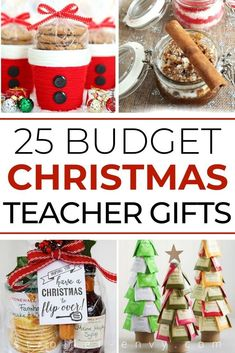 Show teachers appreciation with Christmas gifts they will love - and on a budget! These 25 Budget Christmas Gifts for Teachers are sure to delight without breaking the bank. Inexpensive Christmas Gifts, Christmas Crafts For Kids To Make, Diy Gifts For Kids, Christmas On A Budget, Teacher Christmas Gifts, Christmas Mom, Homemade Christmas Gifts, Easy Crafts For Kids, Best Christmas Gifts