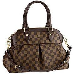Louis Vuitton Trevi GM ... one day very soon we will meet! This will be the last piece in my collection! Can't wait till January....my delivery month. This will be my favorite! A lie... they are all my Favorites ;-)