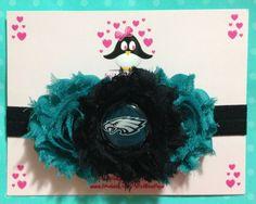 Philadelphia Eagles headband, football headband, baby headband, infant headband, toddler headband on Etsy, $12.00