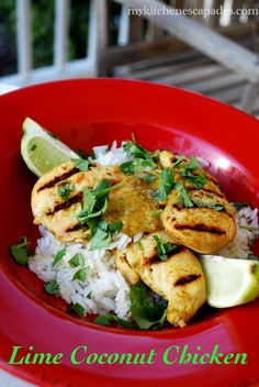My Kitchen Escapades: Lime Coconut Chicken