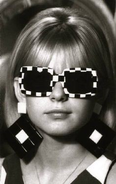 Perfect for the Indy 500!! (1967 fashion sunglasses)