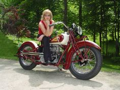 Girl on an old motorcycle: Post your pics! - Page 678 - ADVrider