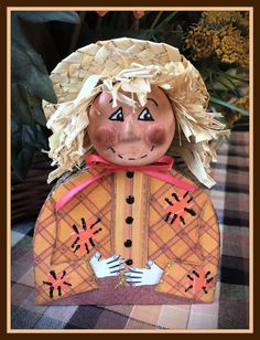 FRIDAY, OCTOBER 16, 2020 How I Made My Harold Mixed Media Shelf Sitter Scarecrow Doll For me I just LOVE the fall decorating season. One of my reasons is because I just love scarecrows and have made many over the years. So, when I got a chance to make some paper-clay and wood mixed media shelf sitter scarecrows several years ago I jumped right in and made two..... Scarecrow Doll, Media Shelf, Scarecrows, Love Is Free, Paper Clay, Fall Decorating, Craft Tutorials, Over The Years, How To Memorize Things