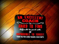 Coach Coaches Gift Basketball Coach Gift by Sammieslettering