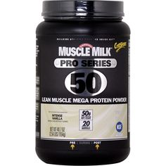 CytoSport Muscle Milk Pro Series 50 Intense Vanilla 2.54 lbs   Regular Price: $63.99, Sale Price: $41.99   OvernightSupplements.com   #onSale #supplements #specials #CytoSport #ProteinPowder    Muscle Milk Pro Series 50 Youre not like everybody else You dont just want to push your limits you want to destroy them And that means giving your body the nutrients it needs to help crush every rep every set every workout Muscle Milk Pro Series 50 gives you fifty grams of protein to h