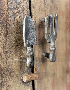 Cute cabinet hardware.