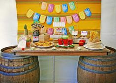 Hostess with the Mostess® - #Mexican #Fiesta #Taco Bar