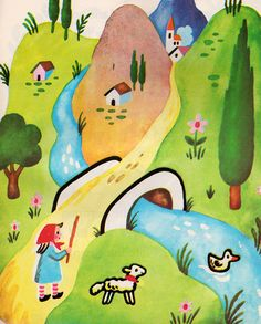 Springtime for Jeanne-Marie, illustrated by Francoise Seignobosc children's books