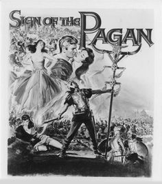 Jeff Chandler - Jack Palance - 'Sign of the Pagan' - (1954)