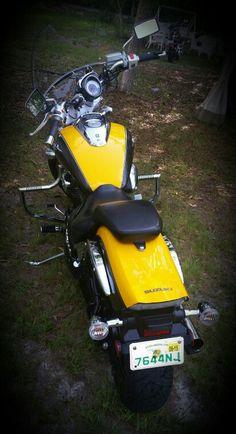 My Suzuki boulevard m50 Bumblebee