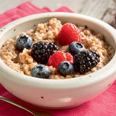 I'm beginning to really love oatmeal again after being totally against it for years.  Try this great recipe!!!