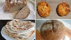 Recepty na chlieb a pečivo bez droždia a kvásku, Varíme, pečieme, zavárame | Naničmama.sk Muffin, Bread, Breakfast, Food, Morning Coffee, Brot, Essen, Muffins, Baking