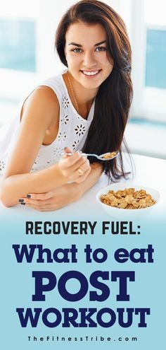 Recovery Fuel: What To Eat Post Workout. Healthy ideas for what to eat once your workout is complete - The Fitness Tribe Easy Diet Plan, Healthy Diet Plans, Get Healthy, Healthy Life, Healthy Living, Healthy Food, Post Workout Nutrition, Post Workout Food, Fitness Nutrition