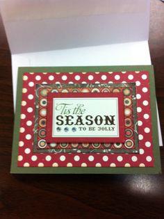 Christmas Holiday card 2010 - Scrapbook.com