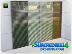 SIMcredible!'s Evening Falls Blinds