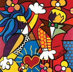 The Good Life, 1990 by R. Britto