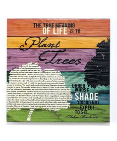 Take a look at this 'Meaning of Life' Wall Plaque by Jozie B on #zulily today!