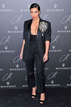 At the CR Fashion Book Issue No.5 launch party in Paris.