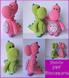 Patrón Dinosauria Listo!!!!