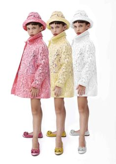 Mimi Sol summer 2013 A lace raincoat! I know a lot of little girls that would love this!