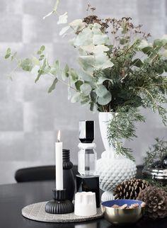 DIY: 9 vackra dekorationer med granris   ELLE Decoration