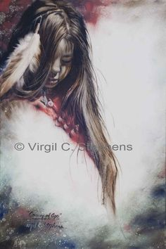 Coming Of Age, Giclee print from original oil painting by Virgil C. Stephens