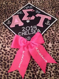 Alpha Sigma Tau Graduation Cap